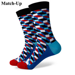 $enCountryForm.capitalKeyWord NZ - 2016 new men colorful combed cotton socks,plaid socks,shipping for free,US size (7.5-12) 367