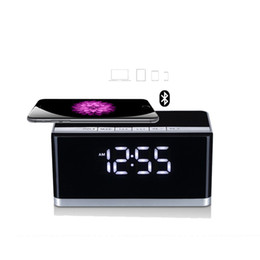 $enCountryForm.capitalKeyWord Australia - MUSKY DY-27 Bluetooth Wireless Speaker with LED Display Clock Alarm FM Radio Support AUX TF Card USB Playing Loudspeaker