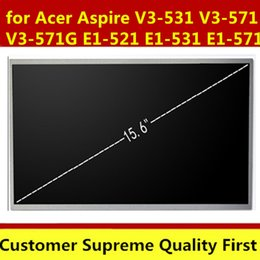 Discount acer aspire v3 - Laptop LCD Screen for Acer Aspire V3-531 V3-571 V3-571G E1-521 E1-531 E1-571 Q5WV1 Series (15.6 inch 1366x768 40pin )