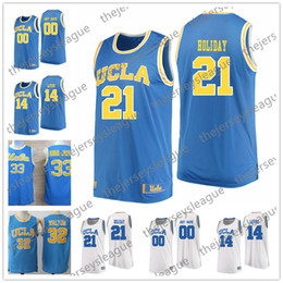 087a55eab89a UCLA Bruins 2018 New  32 Bill Walton 33 Kareem Abdul-Jabbar 22 Shareef  O Neal Blue White Good Quality Stitched University Basketball Jerseys