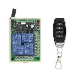 Rf Relay module online shopping - Universal DC V V A CH CH Relay Wireless RF Remote Control Switch Transmitter Receiver Module MHz