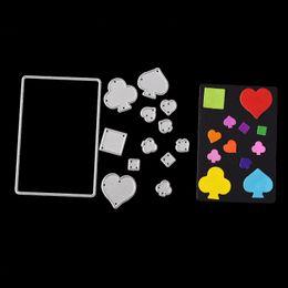 $enCountryForm.capitalKeyWord NZ - Die Cutting Dies Poker for Cards Scrapbooking and Paper Crafts Embossing folder DIY paper craft Machines