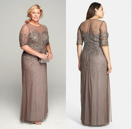 92fd44705 Mother bride dresses for short woMen online shopping - Sheer Plus Size  Mother of the Bride
