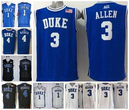 72d5648f1c4 Men Duke Blue Devils Kyrie Irving NCAA College Basketball 1# Jabari Parker 3  Grayson Allen 4 JJ Redick Stitched Basketball Jerseys