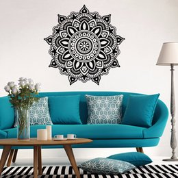 Creative Wall Stickers Mandala Flower Indian Bedroom Wall Paper Decal Art Design Stickers Mural Vinyl Family Home Decoration  sc 1 st  DHgate.com & Mandala Wall Decals Australia | New Featured Mandala Wall Decals at ...