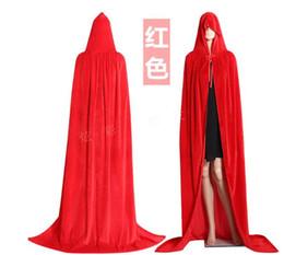 $enCountryForm.capitalKeyWord UK - Halloween woman velvet cloak church dress white ivory champagne bridal shawl cloak