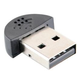 8130495a6ba Супер мини USB 2.0 микрофон портативный студия речи микрофон аудио адаптер  драйвер бесплатно для MSN PC ноутбук лекции преподавания