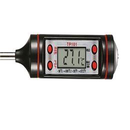 Digital Food Termômetro Estilo Caneta Cozinha CHURRASCO Ferramentas de Jantar Instrumentos de Medição de Temperatura de Cozinhar Portátil Digital Termometro em Promoção