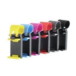 Phone Holder Lg G4 Australia - Car Phone Holder Steering Wheel Stand Retractable Cradle Bracket For Samsung Galaxy S6 S7 Edge J5 S5 LG G3 G4 G5 Sony Xperia Z5#