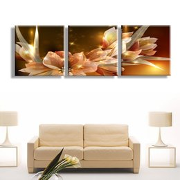 $enCountryForm.capitalKeyWord UK - Abstract Flowers Golden Flowers HD Printed Painting Canvas Print room decor print poster picture canvas Free shipping