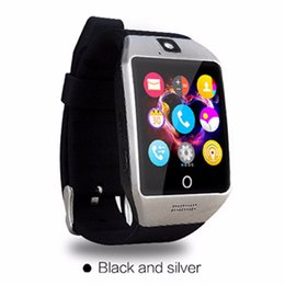 $enCountryForm.capitalKeyWord Canada - Smartch Bluetooth Smart Watch Q18S With Camera facebook Whats App SMS Smartwatch Support SIM TF Card For IOS Android Phone