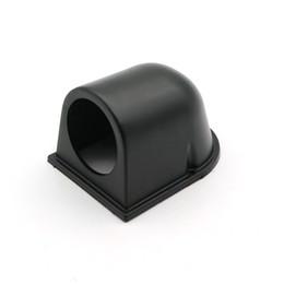 52mm Gauge Holders Australia - 2 inch (52mm) Black Single Hole Gauge Pod Holder Universal Gauge Holder