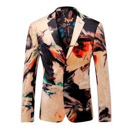 Blazer Men Designer Colorful Chaqueta para hombre chaqueta trajes italianos Marcas trajes de lujo para hombres fiesta vestido de boda del baile de fin de curso