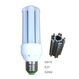 China GX10,G24Q E27 5W 7W 9W 12W 15W LED Light Bulb Esay Installation Extruded Quality Aluminum Heatsink Frosted Cover Slider suppliers