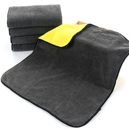 $enCountryForm.capitalKeyWord UK - 800gsm 45cmx38cm Super Thick Plush Microfiber Car Cleaning Cloths Car Care Microfibre Wax Polishing Detailing Towels