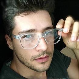 Опт Fashion Men Glasses Frame Women Glasses Clear Glass  Clear Transparent Optical Myopia Eyewear oculos de grau
