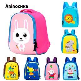 Cute Cartoon Rabbit Anti-lost Toddler School Bag Softback Mini Backpack for  Kids Child Gift Kindergarten Boy Girl Animal 50e86e18ef718