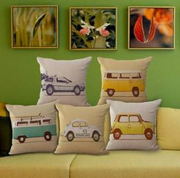 nice cars 2019 - Anime car printed pillow case pillow cover car waist pillowcase sofa cushion cover home decoration anime lovers nice gif