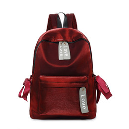 $enCountryForm.capitalKeyWord Canada - New Fashion Women Backpacks Girls Waterproof Backpack Lady Velour Softback for Teenagers Travel Bags College Students Schoolbag