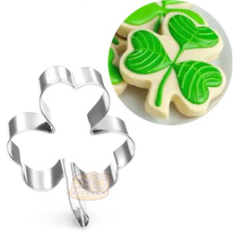 $enCountryForm.capitalKeyWord Canada - 10pcs flower Clover Metal cookie cutter biscuit tool Fruit vegetable die cut Sushi stamp bread mold cupcake topper cake pastry tools