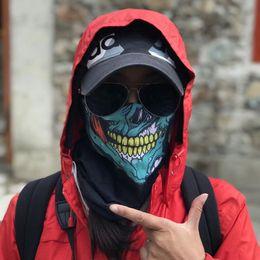 $enCountryForm.capitalKeyWord NZ - Skull Face Mask Halloween Skull Bandana Bicycle Ski Skull Half Face Mask Ghost Scarf Neck Warmer Party headband Magic Turban Balaclava