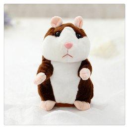 Stuffed Animals & Plush Humorous Speaking Electric Hamster Shaking Nodding Vole Dude Plush Toy