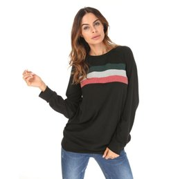 f003b955a2ba New Pure Color Round Neck Long Sleeve Splice Bump Color Big Yards Women Who  Dress T-shirt