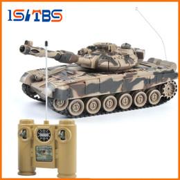 $enCountryForm.capitalKeyWord Australia - RC Tank 1 20 9CH 27Mhz Infrared RC Battle Tiger T90 Tank Cannon & Emmagee Remote Control Tank remote toys for boys