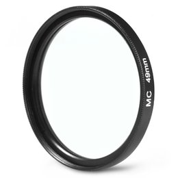 Multi coated filters online shopping - 49mm MC UV Camera Multi Coated Ultra violet Filter Protector for Sony Canon Pentax