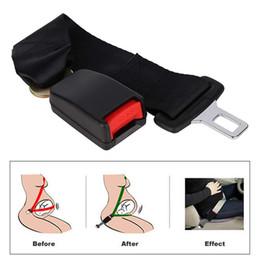 $enCountryForm.capitalKeyWord NZ - Universal 36cm Adjustable Car Auto Safety Seat Belt Clip Seatbelt Extension Extender Strap Buckle For Pregnant Women