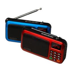 $enCountryForm.capitalKeyWord Australia - Portable Mini FM Elderly Radio Speaker Music Player TF SD Card USB Disk For PC Phone With LED Display Multi Function Radios