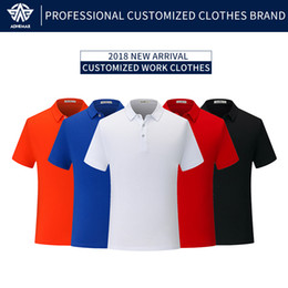 Polo Business NZ - Adhemar new short-sleeved polo shirt for men fashionable casual clothes for business breathable clothing sports