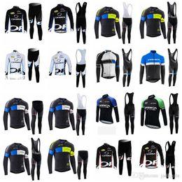 Discount orbea bike cycling long - ORBEA team Cycling long Sleeves jersey (bib) pants sets Men's Ropa ciclismo mtb bike bicicleta hombre Spring Autumn