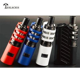 Wholesale Original Teslacigs Stealth W Kit with Shadow Tank ml or The Carrate RTA ml W Stealth box E Cigarees Kit