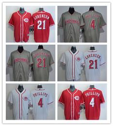 59ebe8dd61c ... purchase 2018 mens cincinnati reds jersey 4 brandon phillips 21 reggie  sanders 21 michael lorenzen home