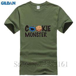 cb4686a45 2017 t shirt Cookie Monster Design 3d Printed T-Shirt Men's The Cookie  Muncher Novelty Short Sleeve anime cosplay mens t-shirt