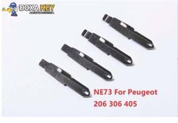 $enCountryForm.capitalKeyWord NZ - (5pcs) NO.53 NE73 Key Blade Replacement Flip Floding Blade Car key Blank For Peugeot 206 306 405