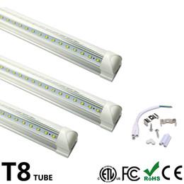 $enCountryForm.capitalKeyWord UK - Integrated LED Tube Light V Shaped 8FT LED Light Bulb 8 Feet LED T8 Double Side Integrated Fluorescent Lamp