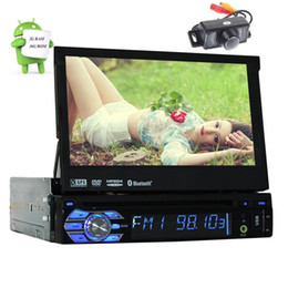Rear Camera Included !!! Android 6.0 Stereo 1Din Car DVD Player GPS Audio Radio Head unit Support Wifi OBD Cam-in AV Subwoofer on Sale