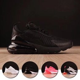 Discount toddlers sneakers shoe - 2018 air cushion 270 Kids running shoes Black White Dusty Cactus 27c outdoor toddler athletic sports shoe brand boy & gi