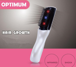 $enCountryForm.capitalKeyWord Australia - smart electric massage comb high quanlity Hair Brushes Portable Infrared therapy hair solid hair comb White wireless models a401