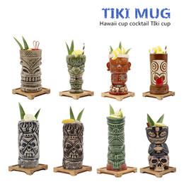 $enCountryForm.capitalKeyWord Australia - Free Shipping Hawaii Tiki Mugs Cocktail Cup Beer Beverage Mug Wine Mug Ceramic Tiki Mugs Great For Cocktail Drink