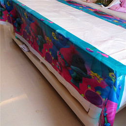 $enCountryForm.capitalKeyWord NZ - 1pc 180*108cm Trolls Disposable Table Cloth Table Cover Cartoon Theme Tablecloth Kid Boy Birthday Party Map Home