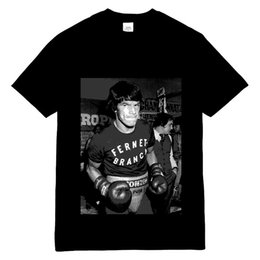 $enCountryForm.capitalKeyWord Canada - Sports Jersey Boxing T-Shirt Printed Carlos Monzon Boxer Soft Cotton Black Tee Shirt for Men Boys, Rapper Hip Hop Style