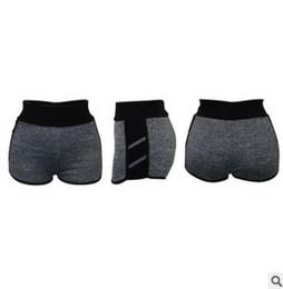 Army Yoga Pants UK - Summer women sport shorts New stitching yoga pants Black Pink Burgundy Blue Army Green Hot Pants
