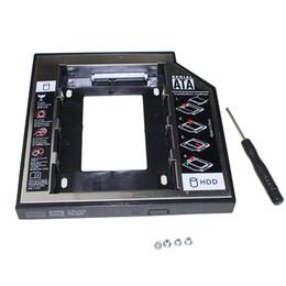 "esata hard disks 2019 - Original Universal 2nd HDD Caddy 12.7mm 2.5"" SATA 3.0 SSD Case Hard Disk Drive Enclosure +LED Indicator for Laptop"
