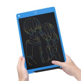 Discount drawing tablets - Portable Colorful LCD Writing Tablet Pad Drawing Notepad Electronic Graphics Digital Handwriting Board E-Writing with st