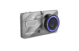 Night Vision Motion Detect UK - Dual dash Cam 1080P HD Car DVR Front and Rear, Driving Video Recorder with 4.0 inches,G-Sensor,Motion Detect,WDR,Parking mode