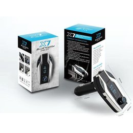 $enCountryForm.capitalKeyWord NZ - Bluetooth Car MP3 Player Cheap X7 Wireless Car Kit FM Transmitter Music Player SD Card USB Charger for Iphone Samsung Best Quality