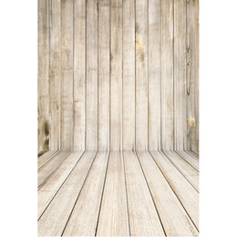 China 3X5FT Vintage Wood Floor Photography Background Retro Yellow Wooden Board Photographic Backdrops For Studio Photo Props cloth supplier vintage photo props suppliers
